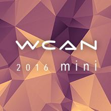 ロゴ:WCAN mini 2016